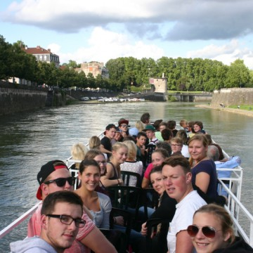 Bootstour in Besançon